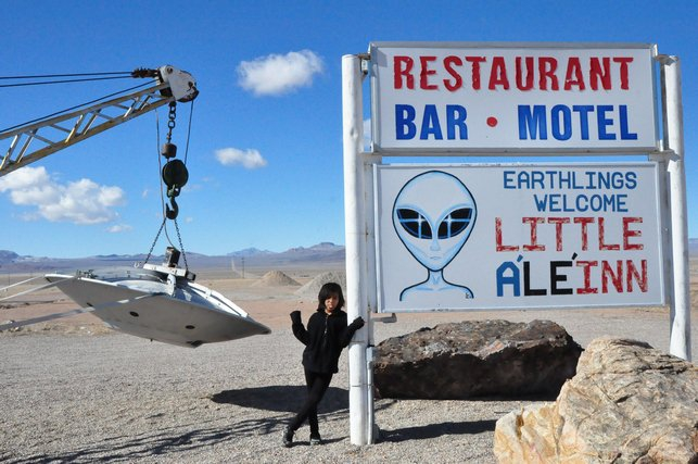 The town of Rachel, Nevada welcomes Earthlings to Area 51